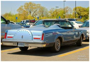 A Lincoln Continental Mark VI Convertible by TheMan268