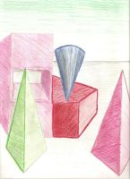 Colored Shapes by randomgirl3