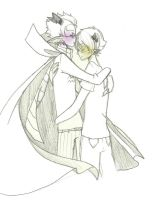 more erisol hugging just becuz i guess by IchinekoMonogatari