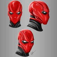 Red Hood Concept Art by joeybowsergraphics