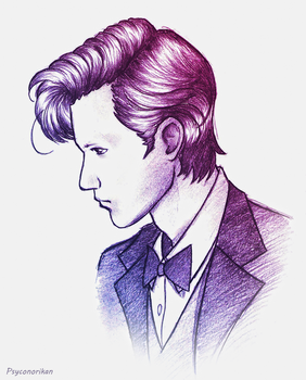 The Eleventh Doctor by Psyconorikan