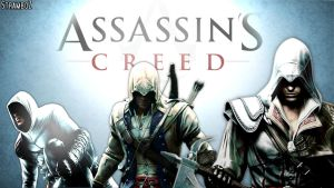 Assassin's Creed Wallpaper - The True Assassins by StramboZ