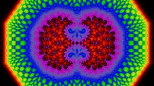 Rainbow Nation Cell Mitosis by hypnogoddess