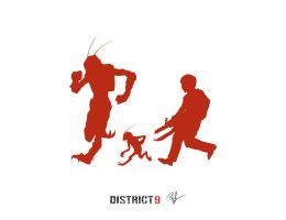 Running from District 9 by lord-phillock