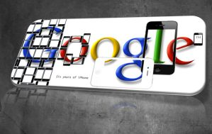 Doodle Google iPhone by WillViennet