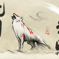 Okami Sketch 5 by GAVade