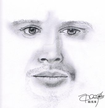 Dean Winchester - Pencil Portrait by tcrobson
