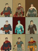 Superman: Man of Fashion by DaveBardin