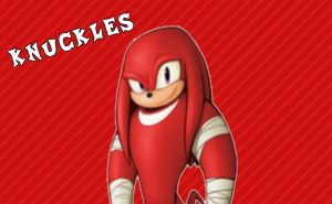 Sonic Boom Wallpaper(Knuckles) by Millerwireless