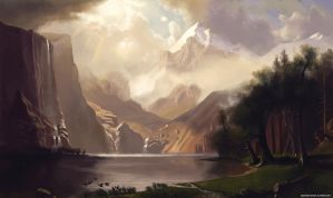 bierstadt master study by ChestyMcGee