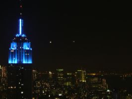 It's only Blue, New York by Coagula