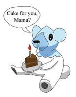 Cake for Mama by MetalShadowOverlord