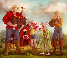 the Apples by Maaronn