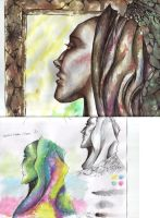 Water colour models by Yaoi-slave