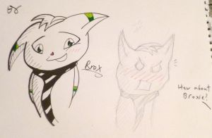 Meet Brox~ by Broxmonkey