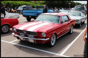 1965  Ford  Mustang by compaan-art