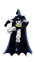 Batman quickie inked and coloured by judsonwilkerson