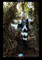 Miqo'te FFXIV Forest Walk by AltriaCosplay