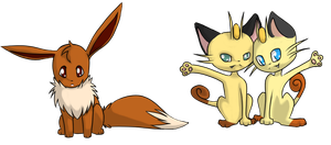 3. Prince and the Meowth Brothers by PixelBluebird