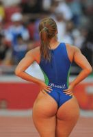 Olympic Ass by milsi11