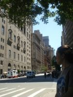 New York Streets by Caitin