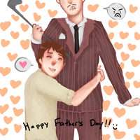 happy fathers day -again- by Biijoux