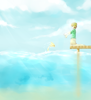 The water rose, so come by chibifiy