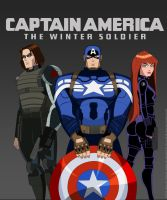 Captain America: The Winter Soldier (AEMH Style) by mitgard-knight