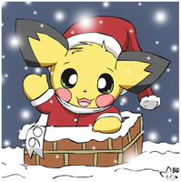 Down the chimney by pichu90