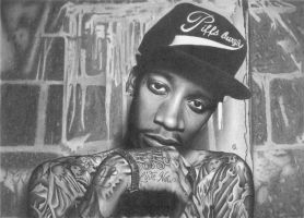 Wiz Khalifa by georgesot