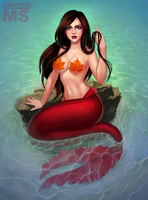 Clara Oswin Mermaid by SoniaMatas