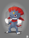 Turn 00 : Weavile by The-BlackToteM