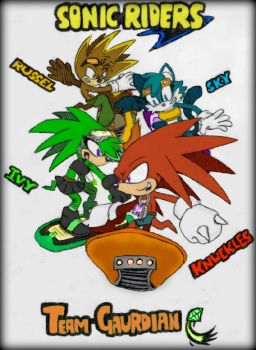 Team Guardian Sonic Riders 2 by GreenBlood12354