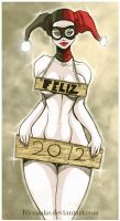 -Harley 2012 happy new year- by Ricsnake