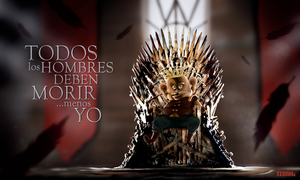 Juancho on the Iron Throne by Dorenma