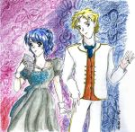 Miss Fortinville and Mr Malfoy by mina-i