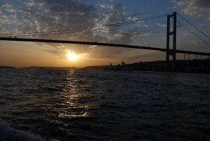Bosphorus tour - Sunset 1 by LLukeBE