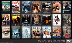 Movie Icon Pack 153 by FirstLine1