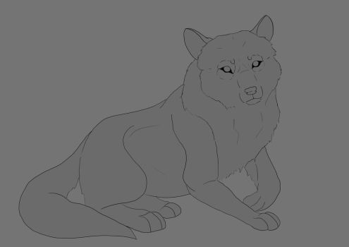 FREE TO USE - Lineart by NyeletIste