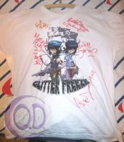 Glitter Freeze Shirt - signed by CargoOfDarkness