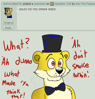 Question 200 by Ask-The-Fazbear-Bros