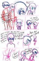 Really old comic attempt by OreoMilu