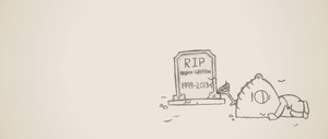 RIP Brian Griffin 1999 - 2013 by Snicketly