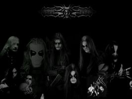 Black Metal Wallpaper by ElinaR