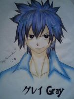 Grey from fairytail by Recca-Kun