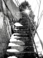 stairway by kaylalphotography