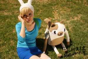 Fionna and Cake II - Adventure Time Cosplay by MyobiXHitachiin
