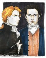 Louis and Lestat by MalyTraktorek