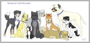 ::FMAD:: Dogs of the Military by Mistrel-Fox