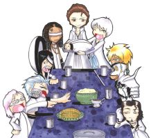 BLEACH - Espada Thanksgiving by VeeBunny